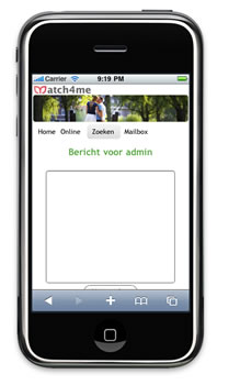 Mobiele site Match4me.nl